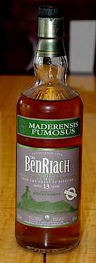Benriach Maderensis Fumosus