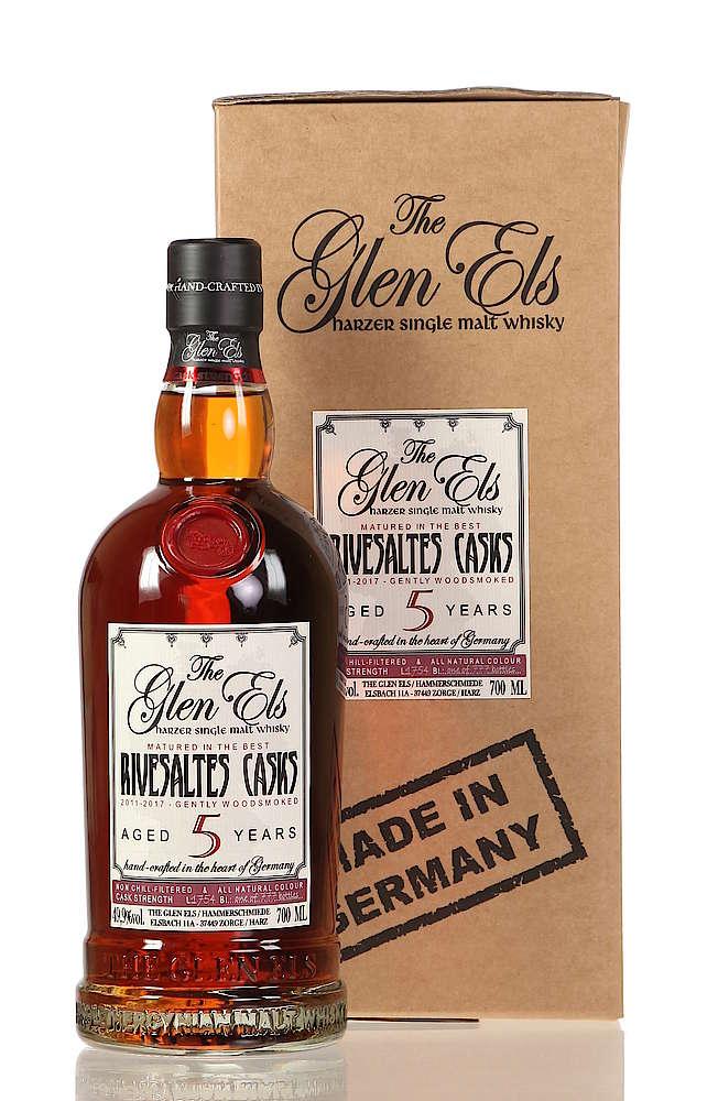 Glen Els 5 Jahre 2011 Gently Woodsmoked Banyuls Casks Se Whisky De