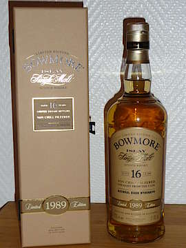 Bowmore Bourbon Cask Matured