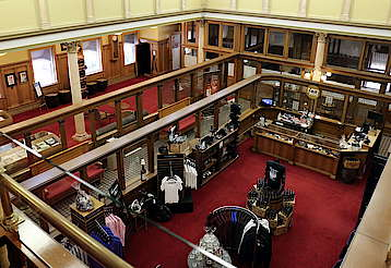 Overview in the Canadian Club Heritage Center hochgeladen von anonym, 07.07.2015