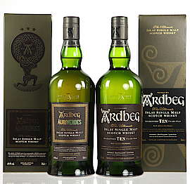 Ardbeg Set - Auriverdes + TEN