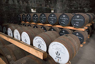 Glen Scotia inside the warehouse hochgeladen von anonym, 27.01.2016