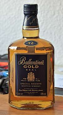 Ballantine's gold seal special reserve
