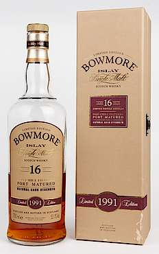 Bowmore Port Matured Natural Cask Strength