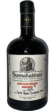 Bunnahabhain Hand-Filled Exclusive Warehouse No 9