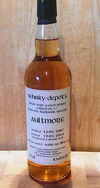 Aultmore Whisky Depots Edition No. 17