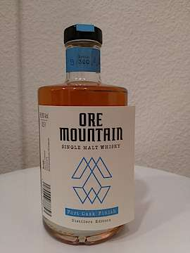 Ore Mountain Port Cask Finish Flasche 9 von 300