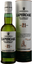 Laphroaig 21 years of Friendship