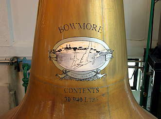 Bowmore picture on the pot still hochgeladen von anonym, 16.02.2015