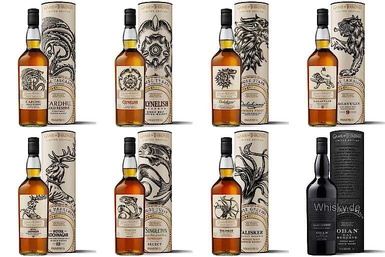 Game Of Thrones Single Malt Whisky Collection Jetzt Können Die
