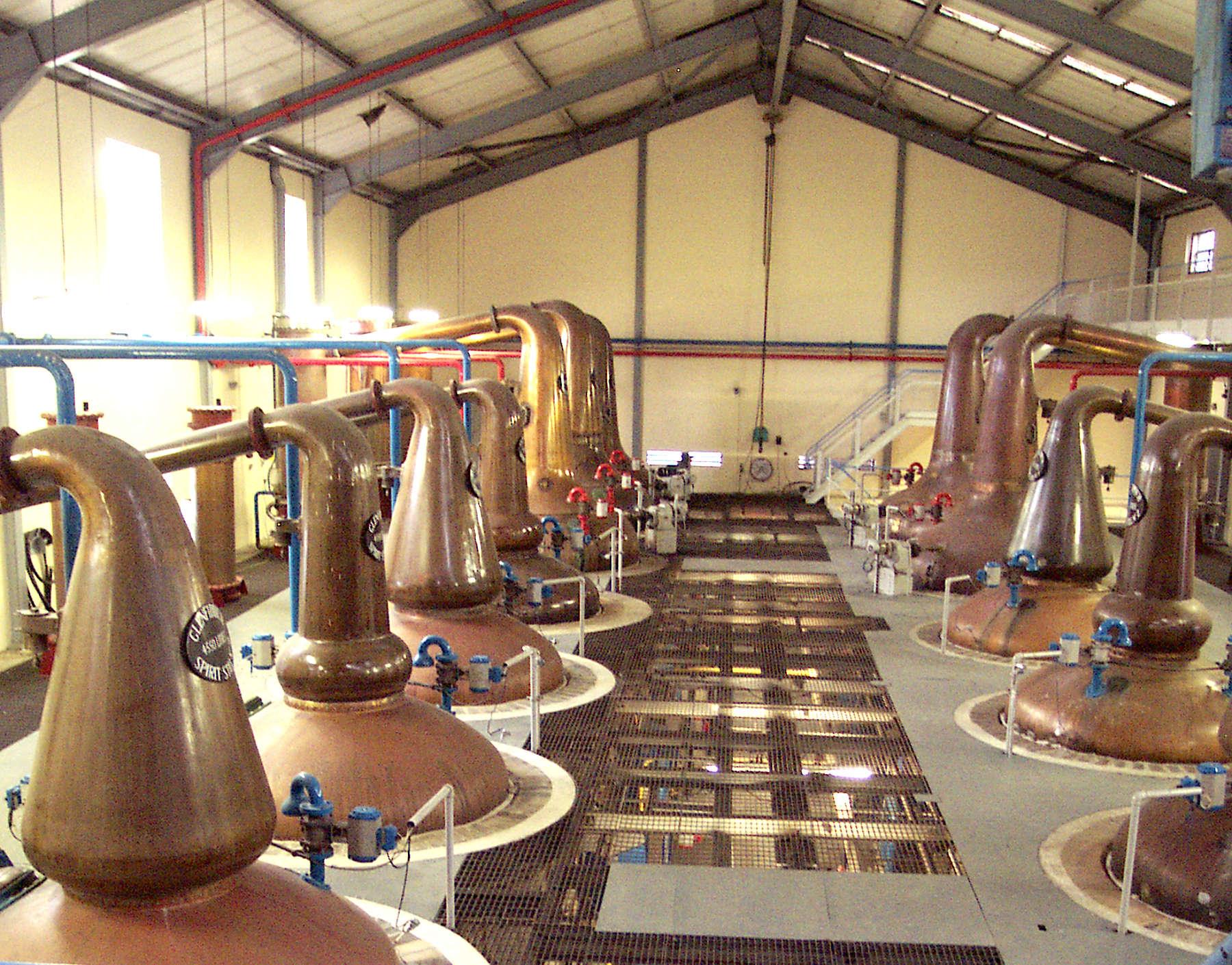 Die Destillation Whisky De
