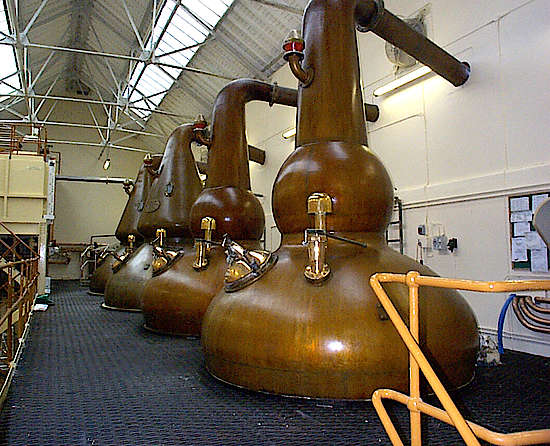 Pot Stills von Knockando