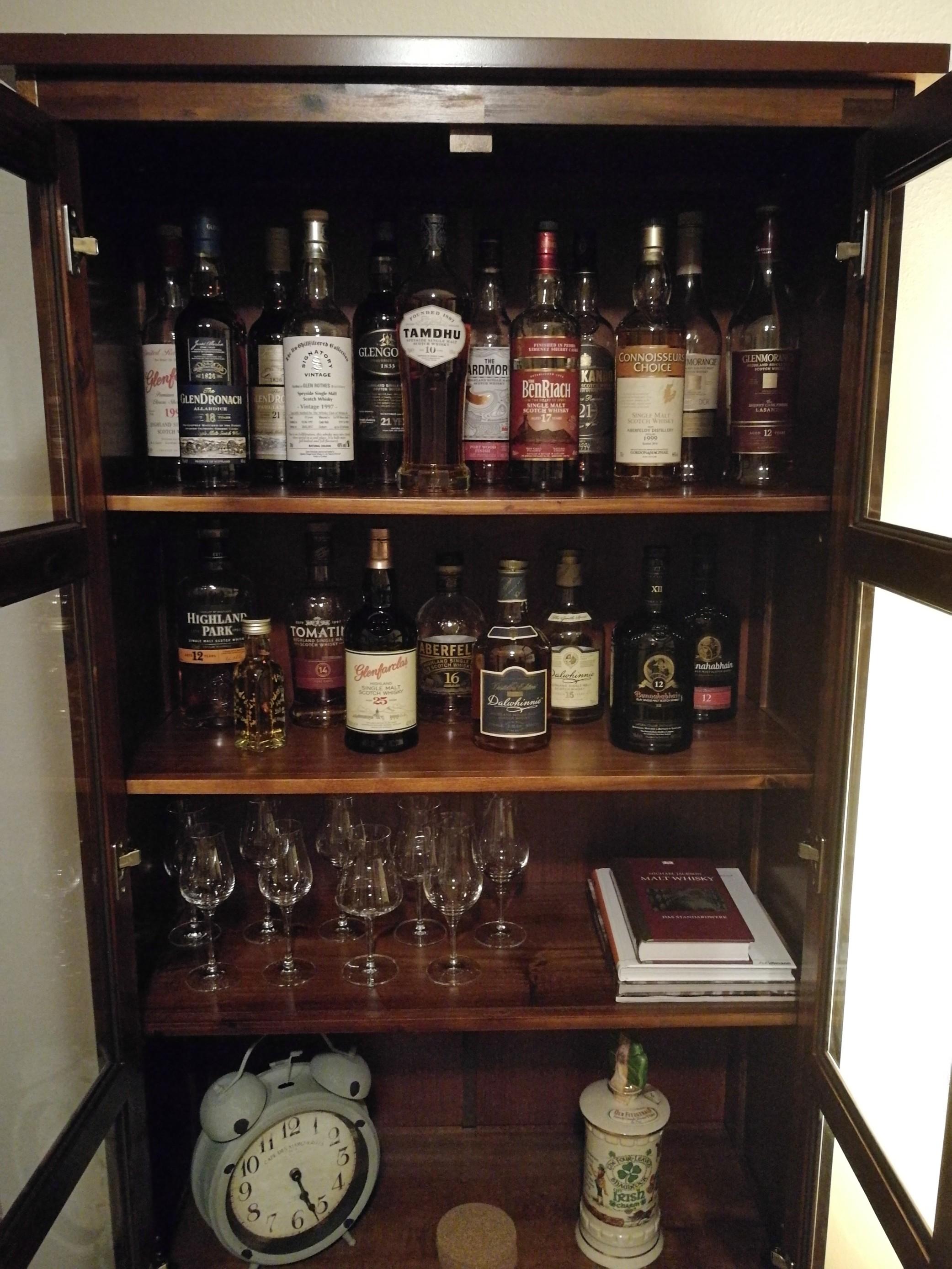 Ansprechendes Whisky-Regal/-schrank - Seite 2 - Forum - Whisky.de