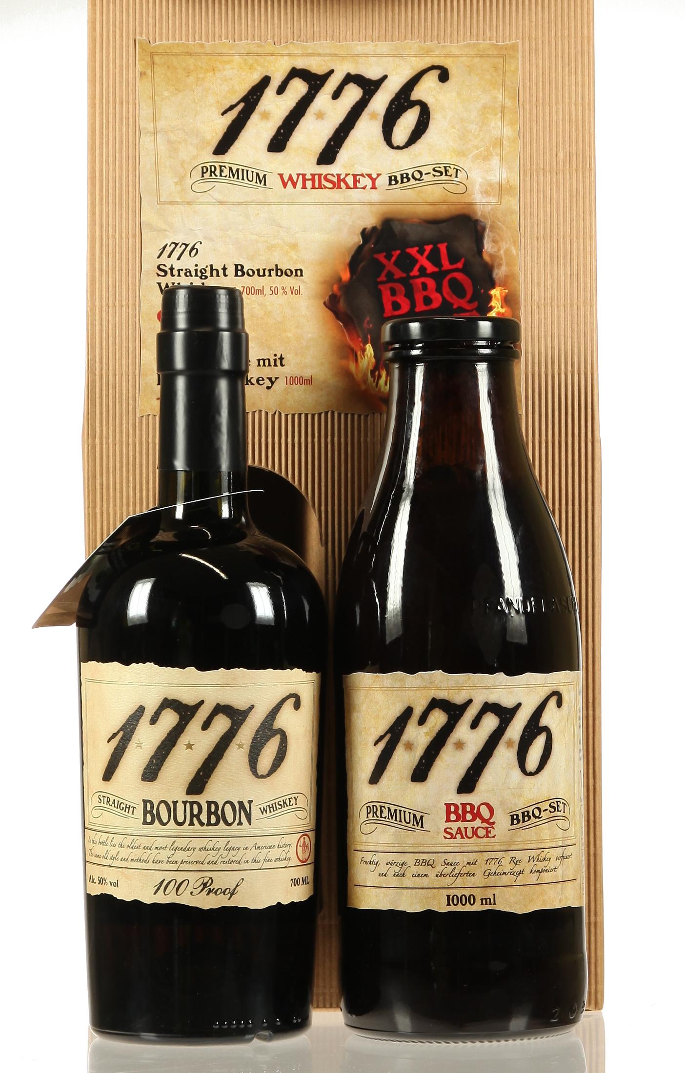 1776 Bourbon XXL BBQ-Set