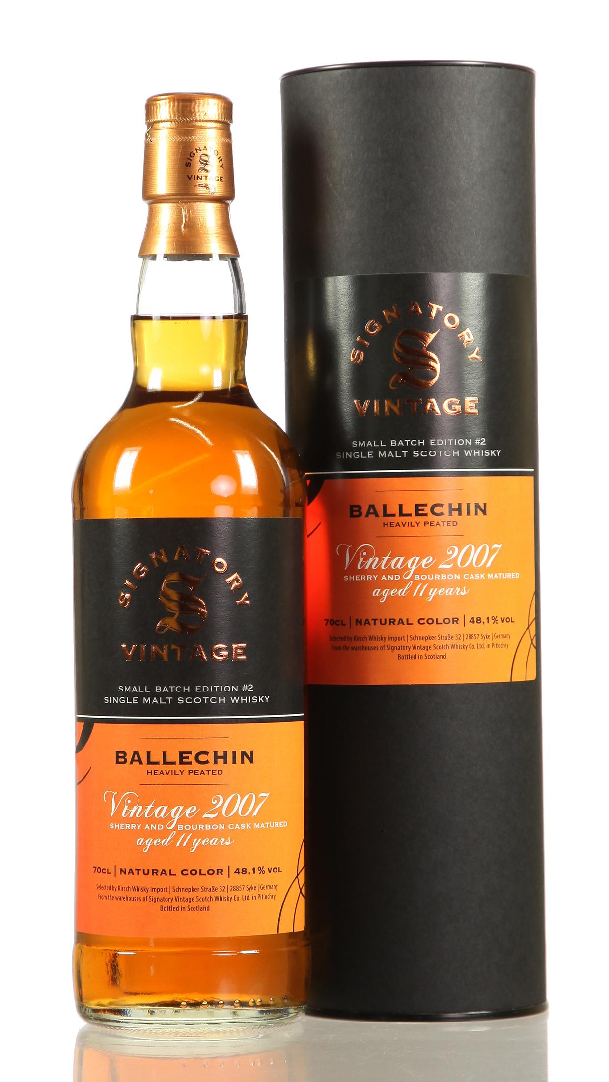 Ballechin Small Batch No. 2
