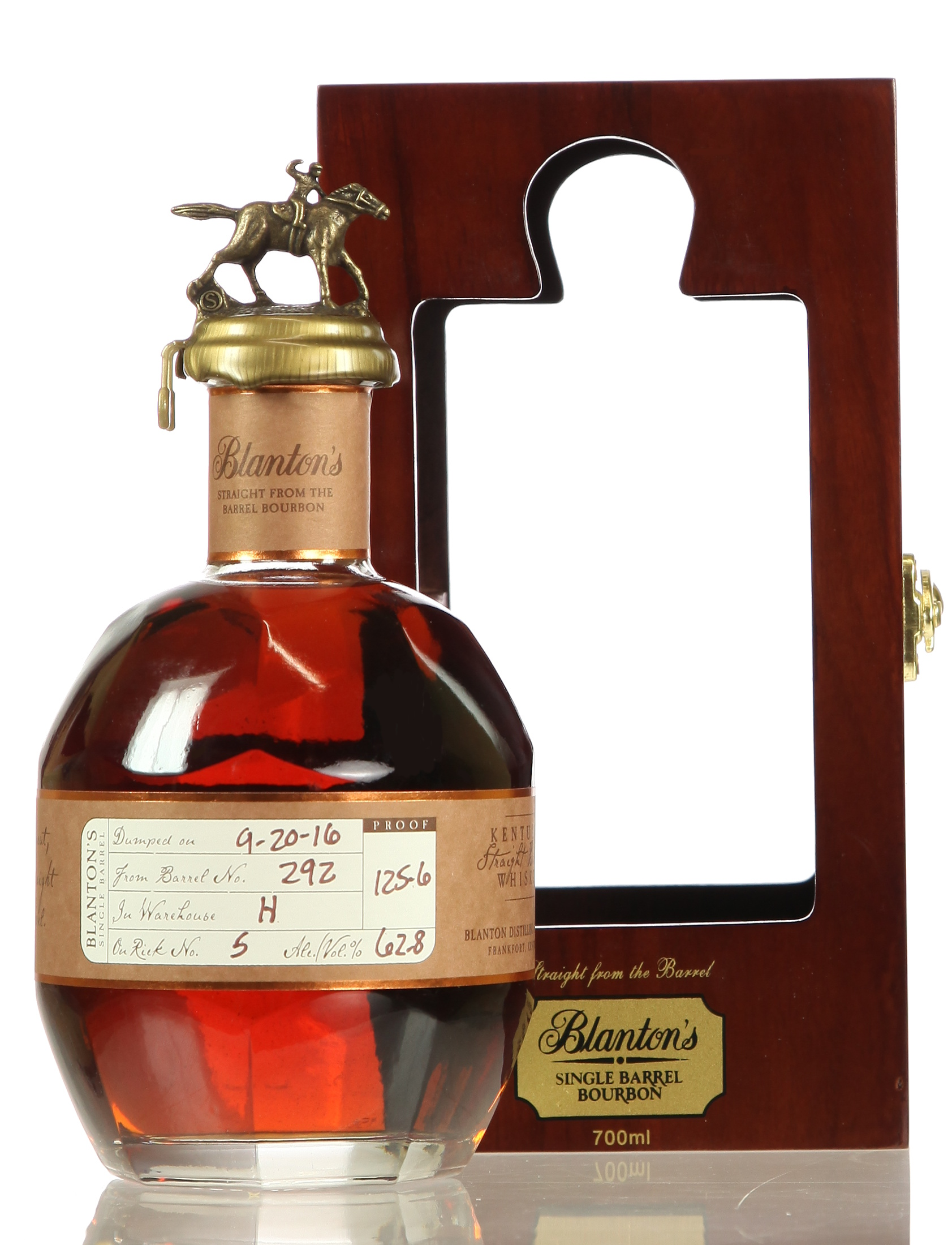 Blanton's Straight from the Barrel mit Holzkiste