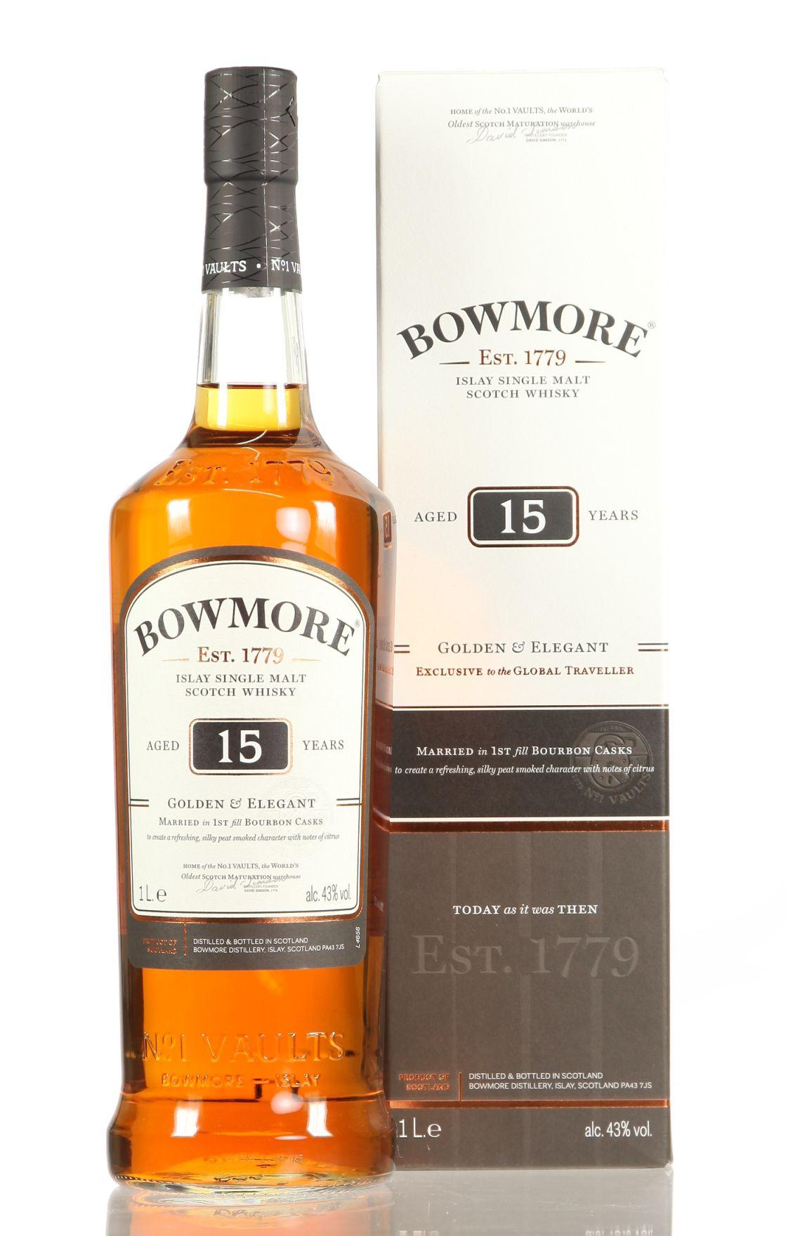 Bowmore Golden & Elegant
