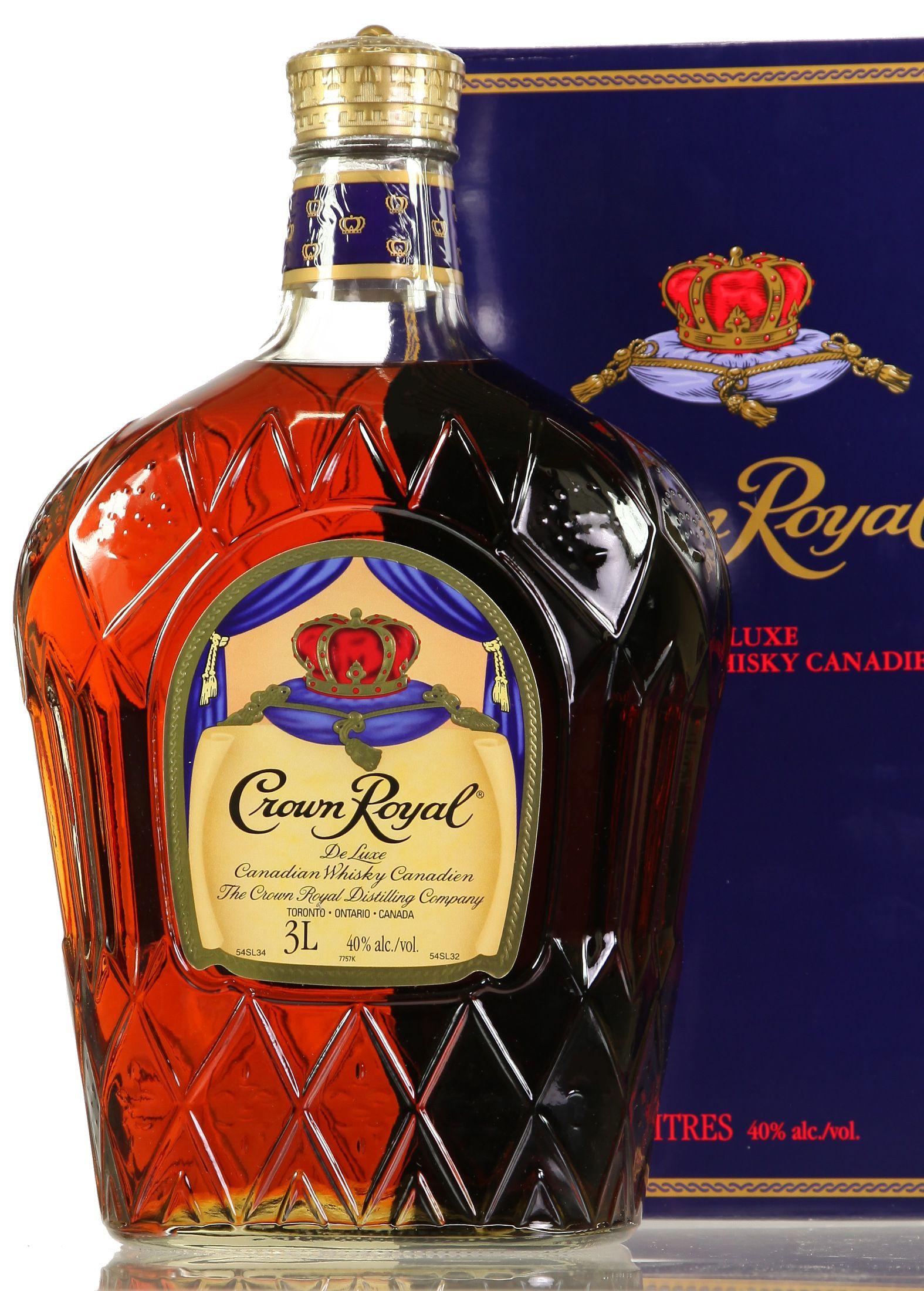 Crown Royal - 3 Liter (Kanada)