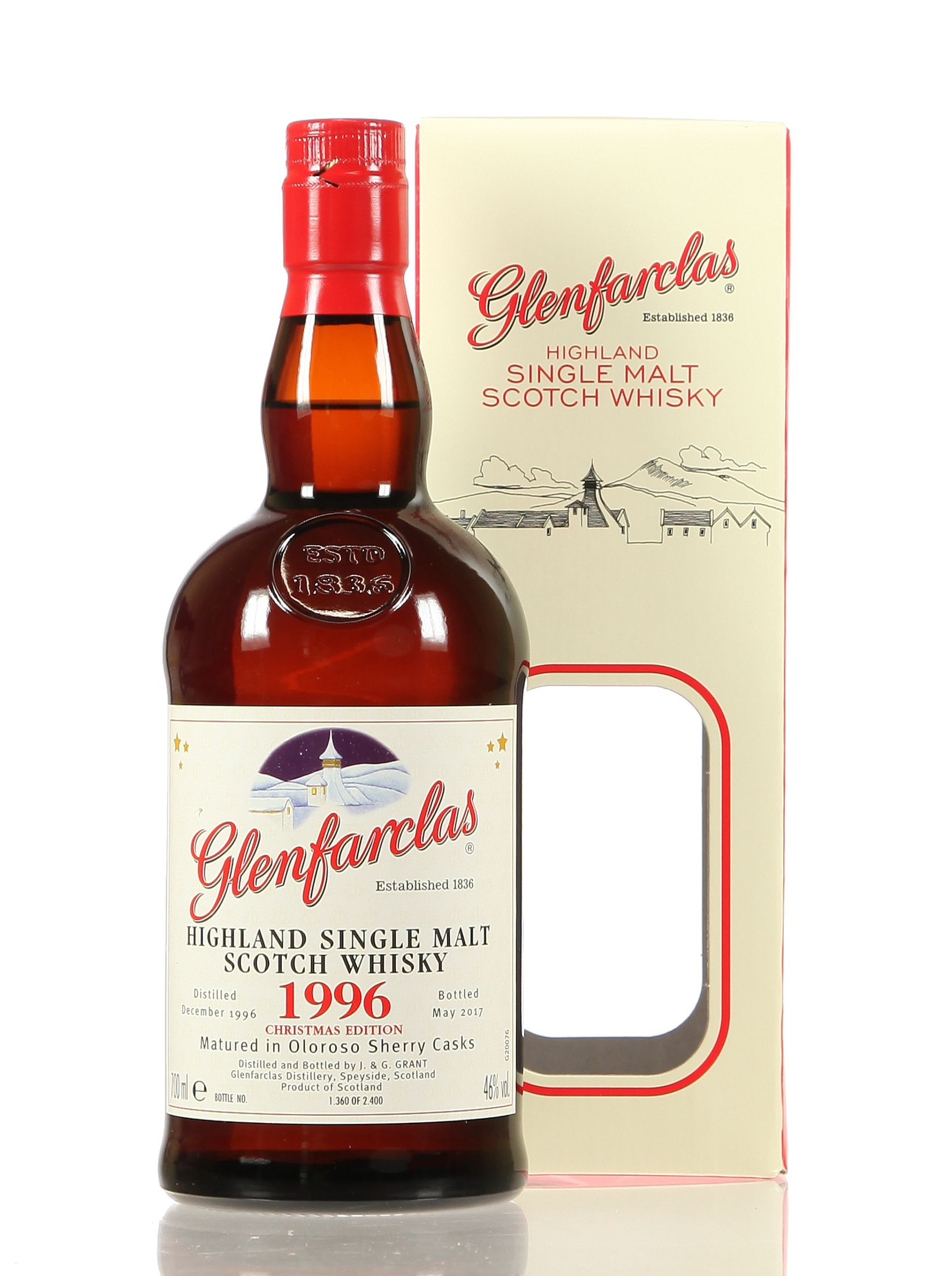 Glenfarclas Christmas Edition