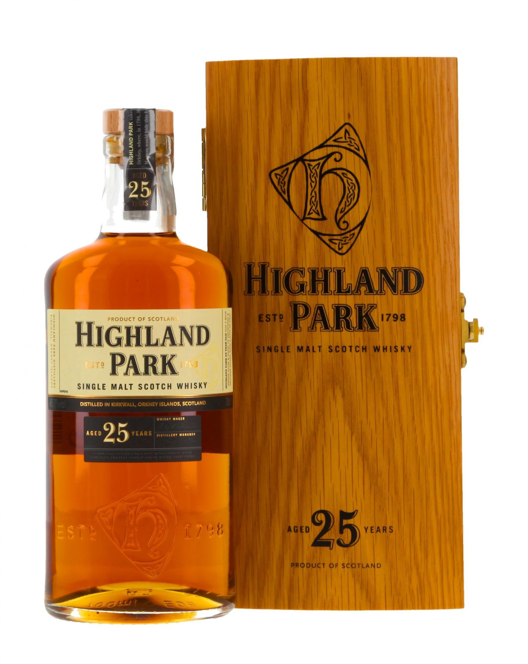 Highland Park Holzkiste