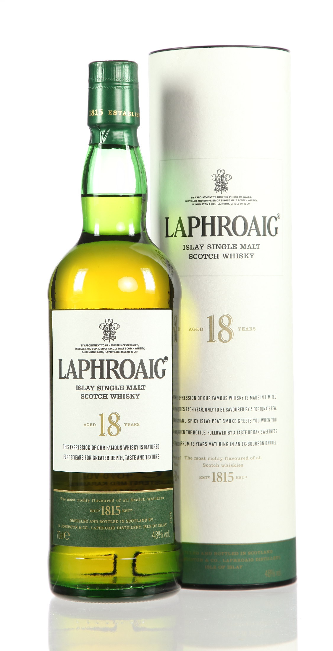 laphroaig wei e dose 18 jahre. Black Bedroom Furniture Sets. Home Design Ideas