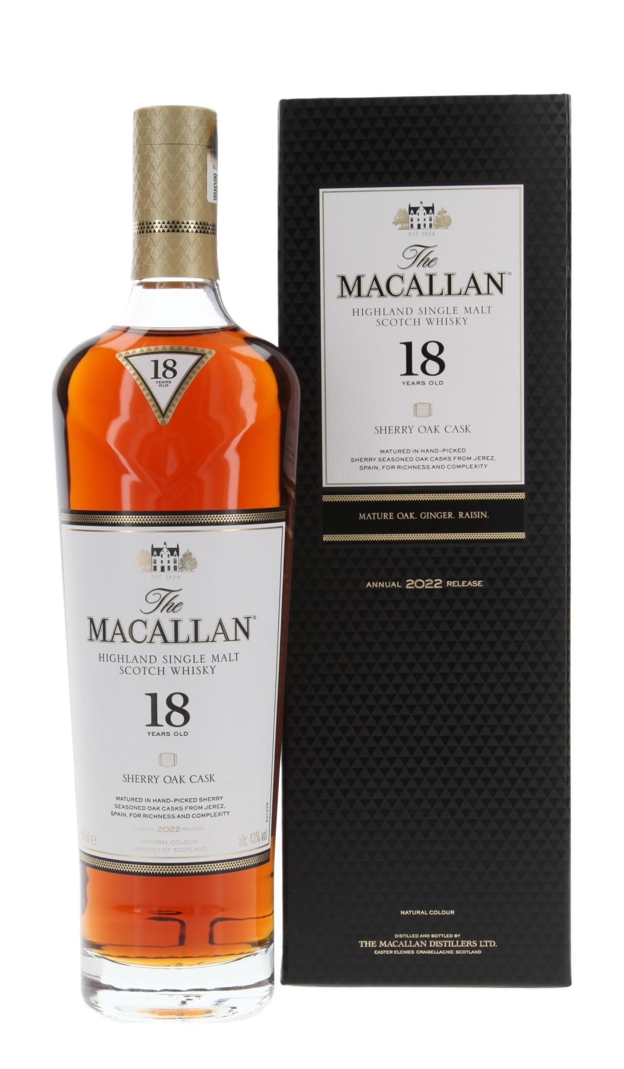 Macallan Sherryfass