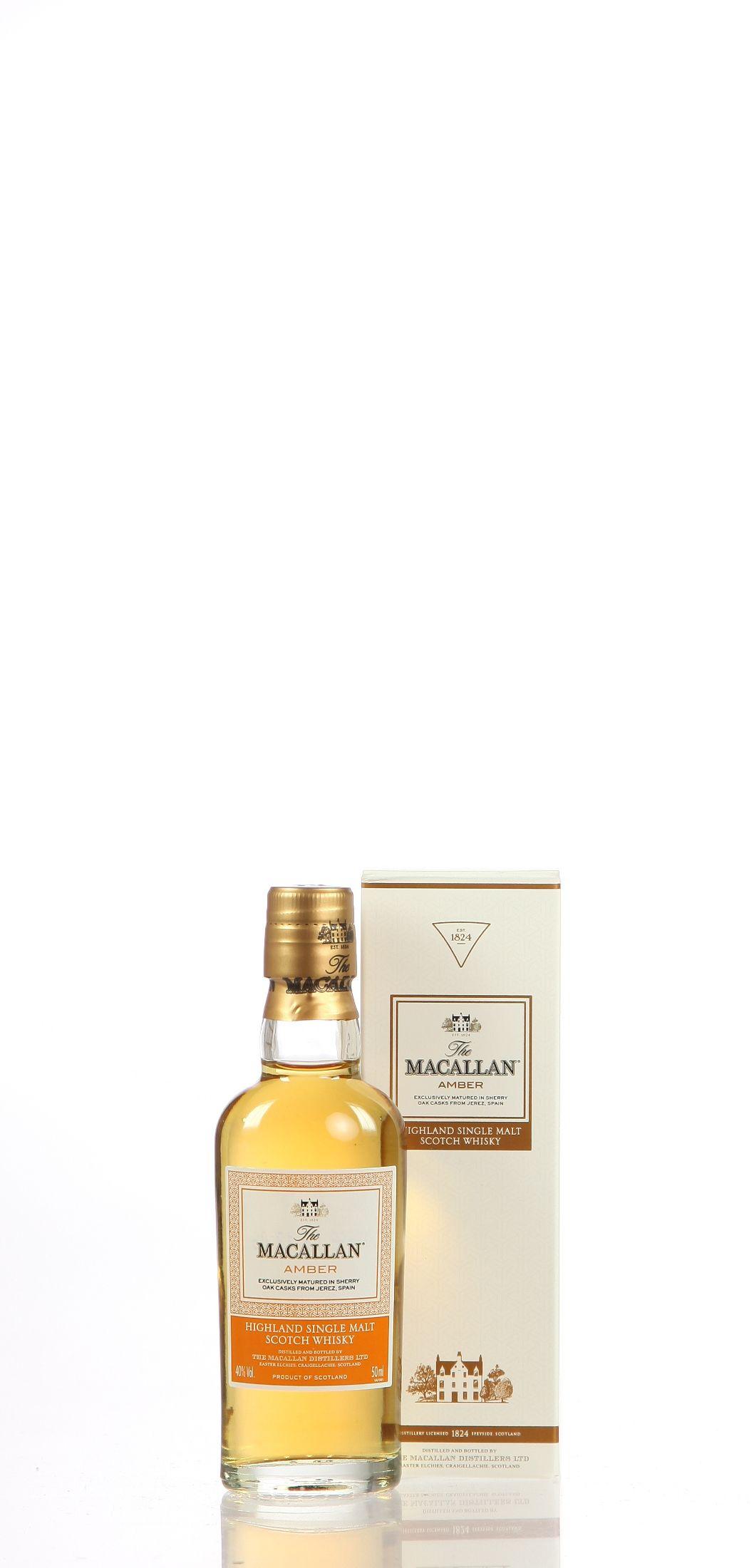 Miniatur Macallan Amber