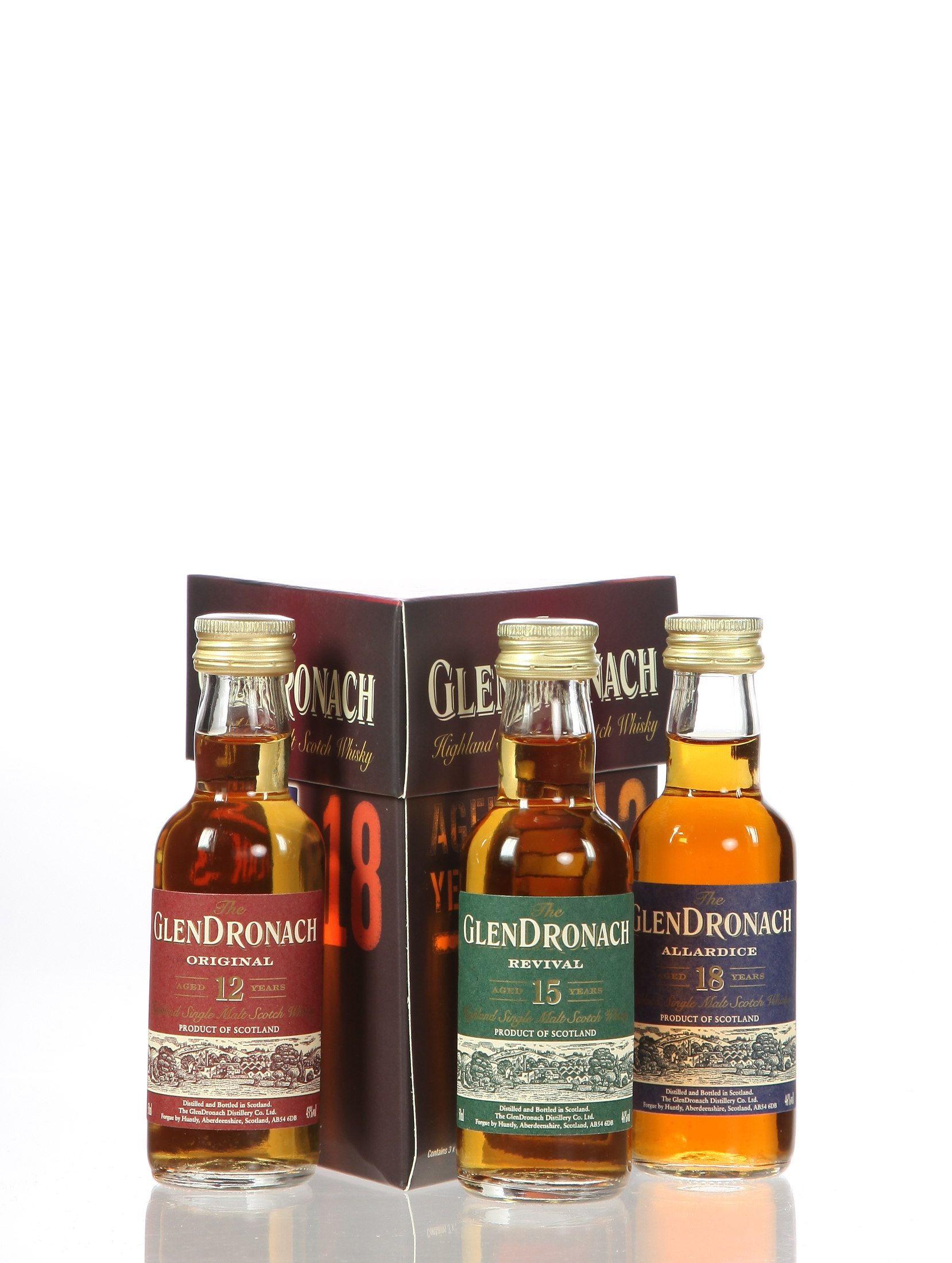 Miniatursortiment Glendronach (Schottland)