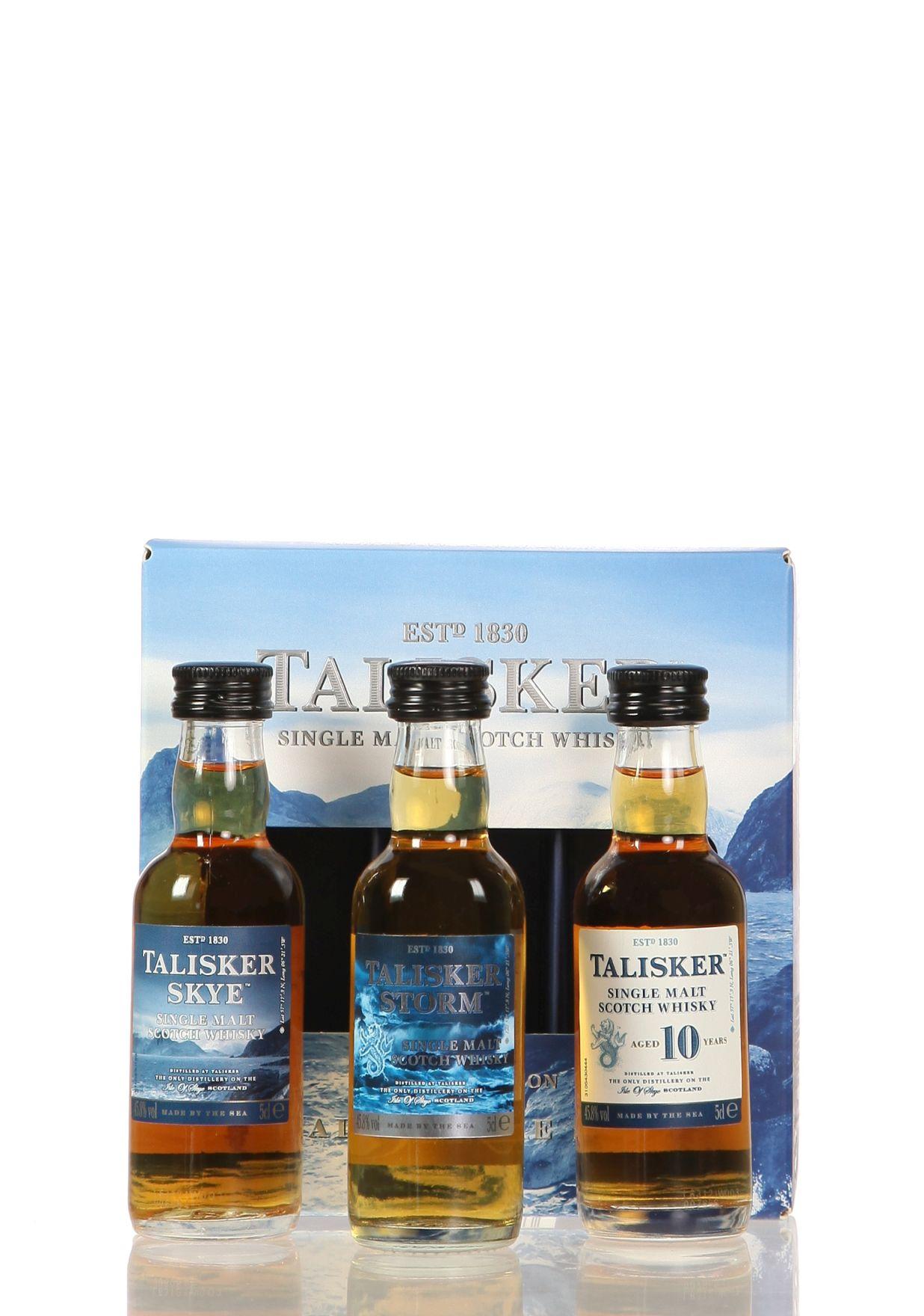 Miniatursortiment Talisker (Schottland)
