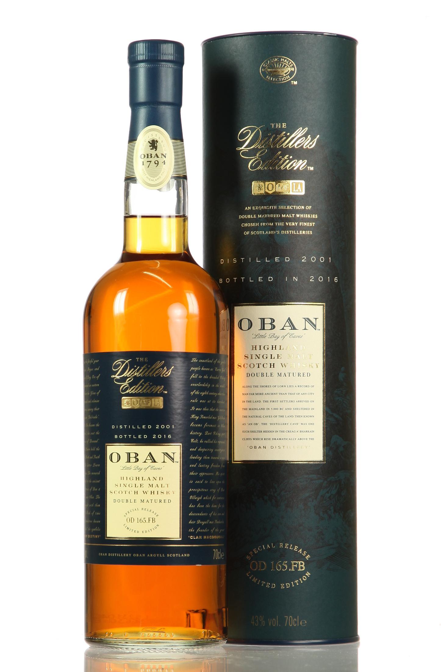 Oban Distillers Edition