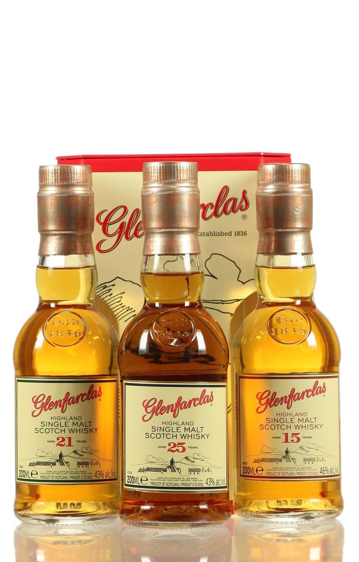 Glenfarclas Triple Pack 15/21/25