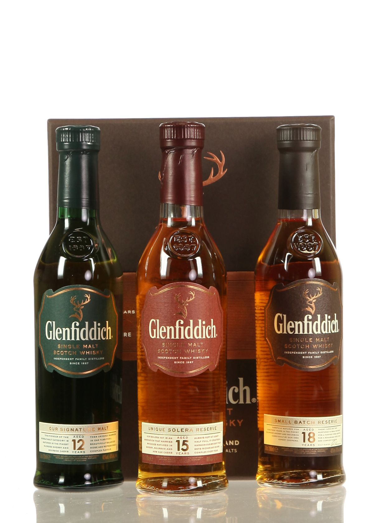 Glenfiddich Mix Pack