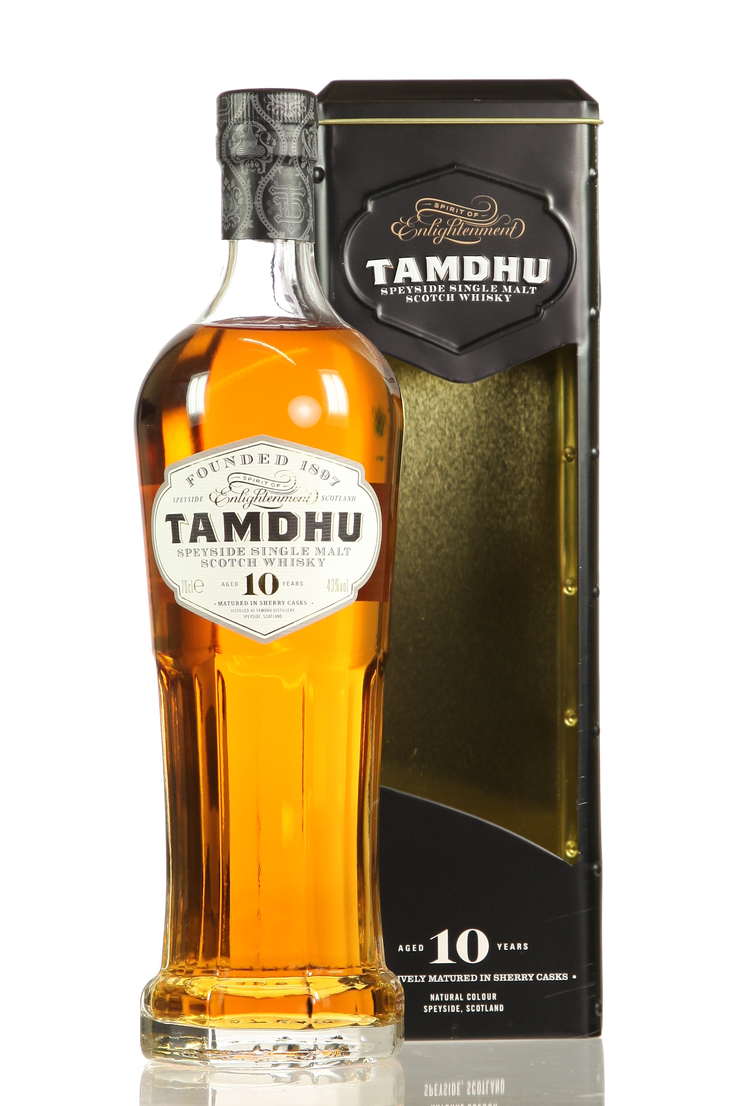Tamdhu Sherry Cask Laterne 43% vol