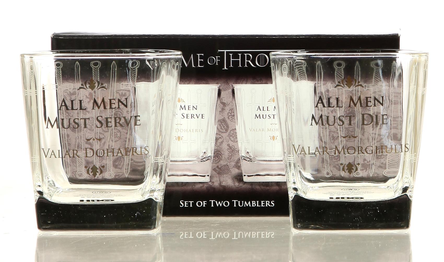 Tumbler Game of Thrones - All Men Doppelpack