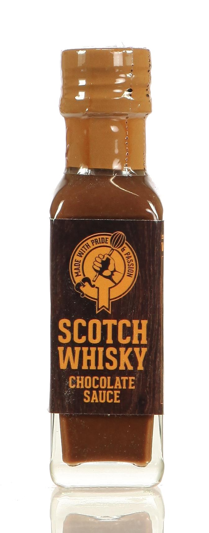 Scotch Whisky Chocolate Sauce