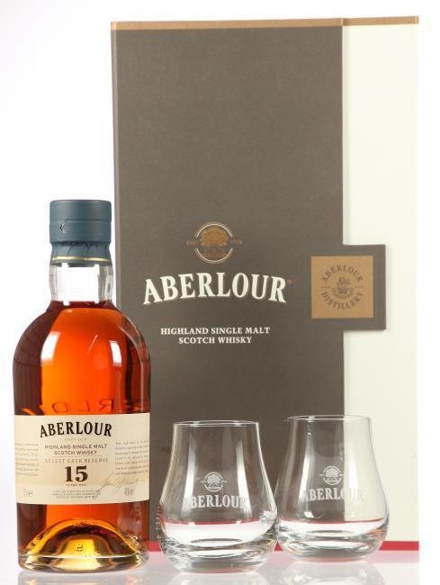 Aberlour Select Cask Reserve mit 2 Gläsern