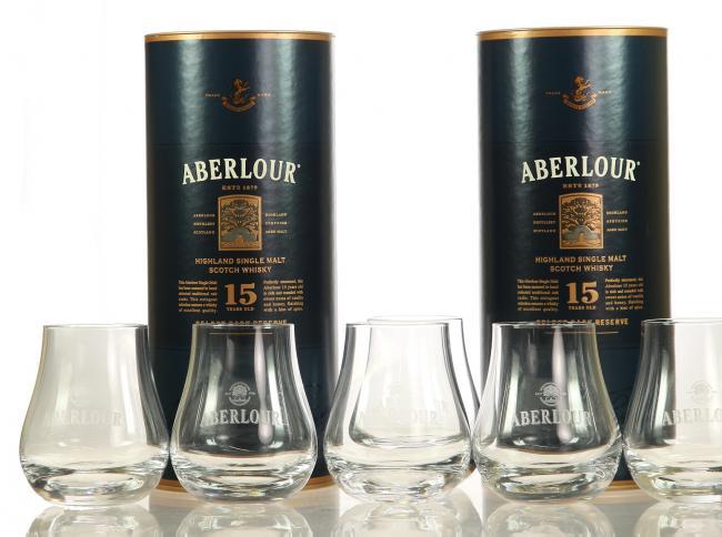 Aberlour Select Cask Reserve Doppelpack mit 6 Gläsern