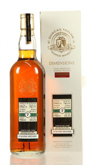An Iconic Speyside Dimensions