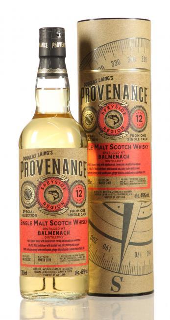 Balmenach Provenance