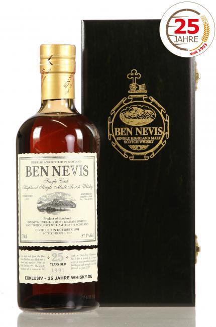 Ben Nevis '25 Jahre Whisky.de'