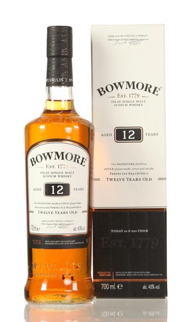 Bowmore inkl. gratis Blechtasse