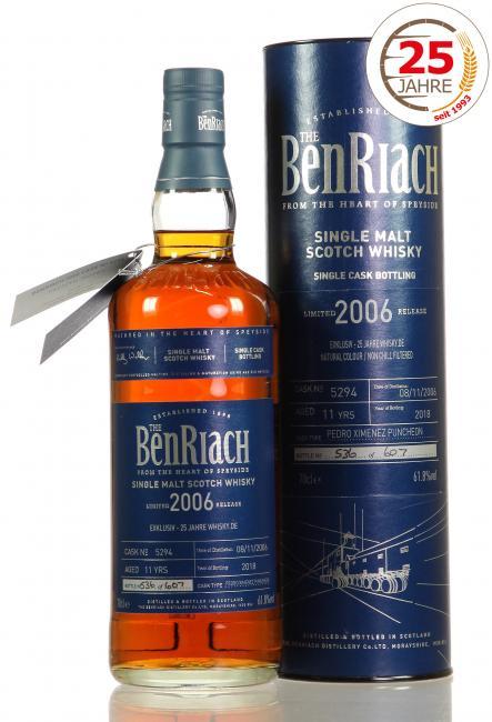 Benriach PX '25 Jahre Whisky.de'