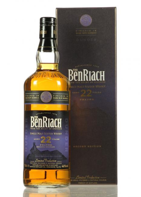 Benriach Dunder Peated Dark Rum Finish
