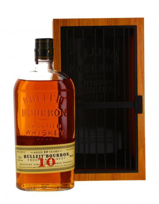 Bulleit Bourbon mit GP in Holzoptik