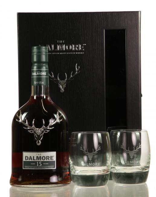 Dalmore The Fifteen mit 2 Gläsern
