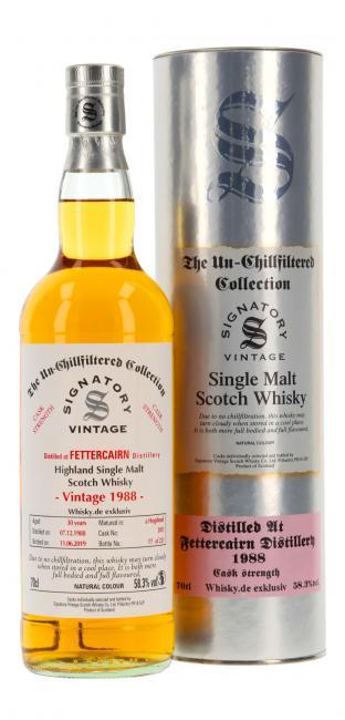 Fettercairn Cask Strength 'Whisky.de exklusiv'