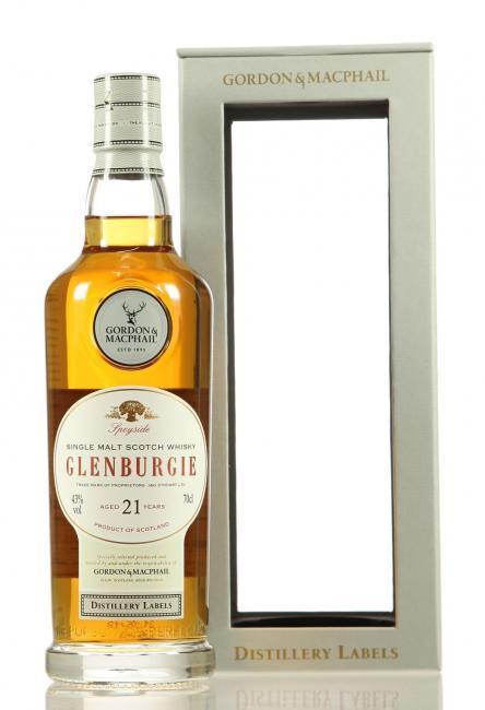 Glenburgie Distillery Labels