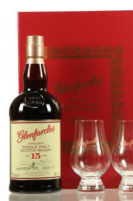 Glenfarclas mit 2 Gläsern