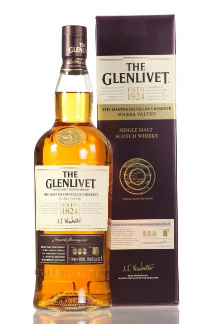 Glenlivet Master Distiller's Reserve Solera Vatted