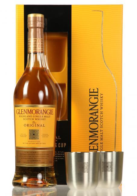 Glenmorangie Original mit 2 Metallbechern